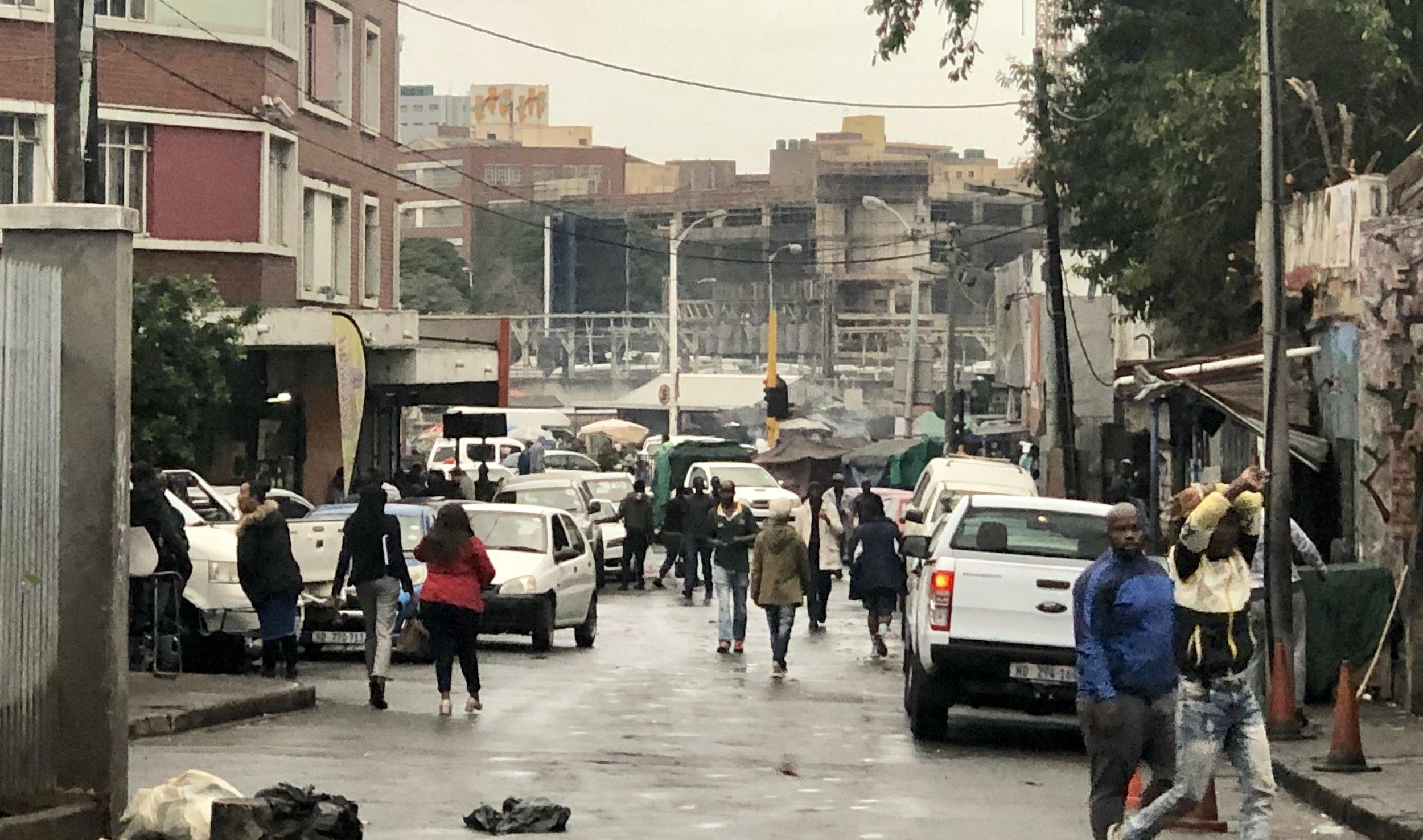 Inner-city Durban