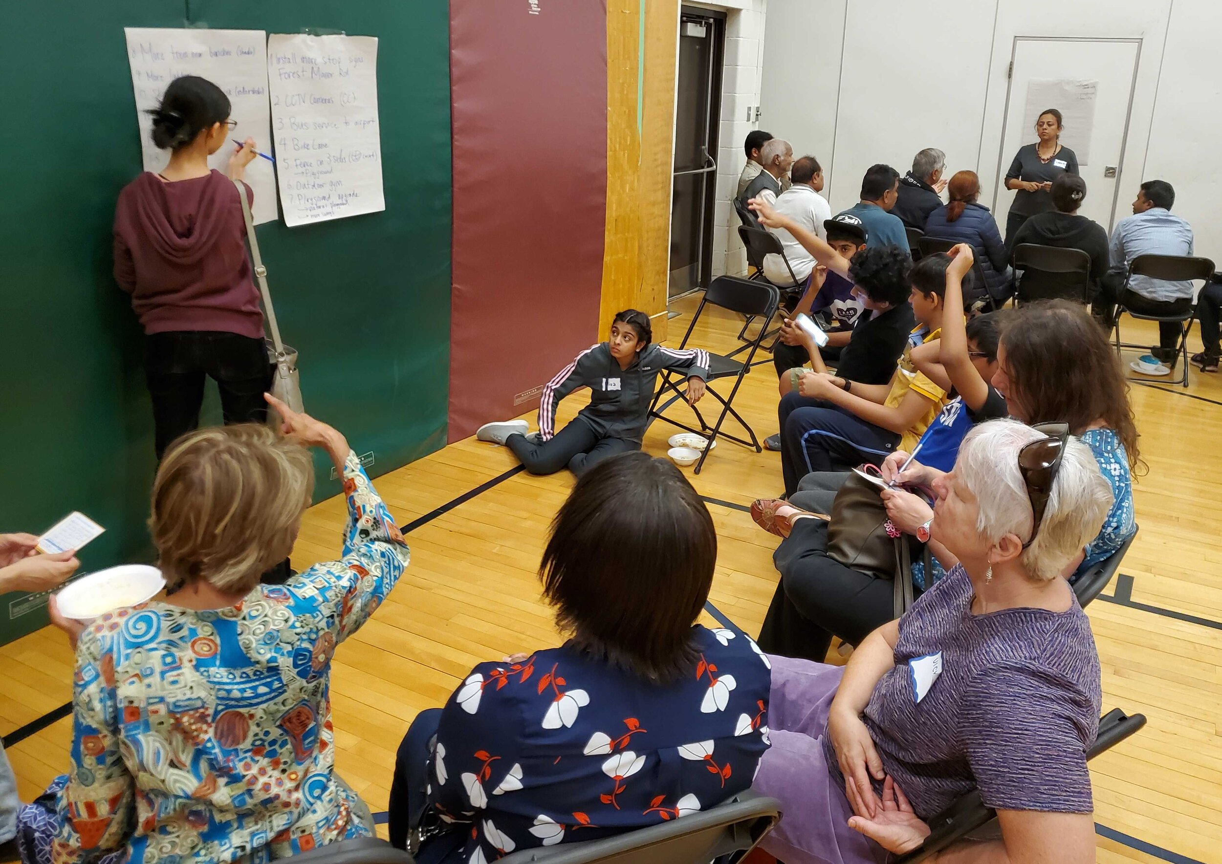 People of all ages and backgrounds submitted their ideas at our Idea Collection Meeting last month.