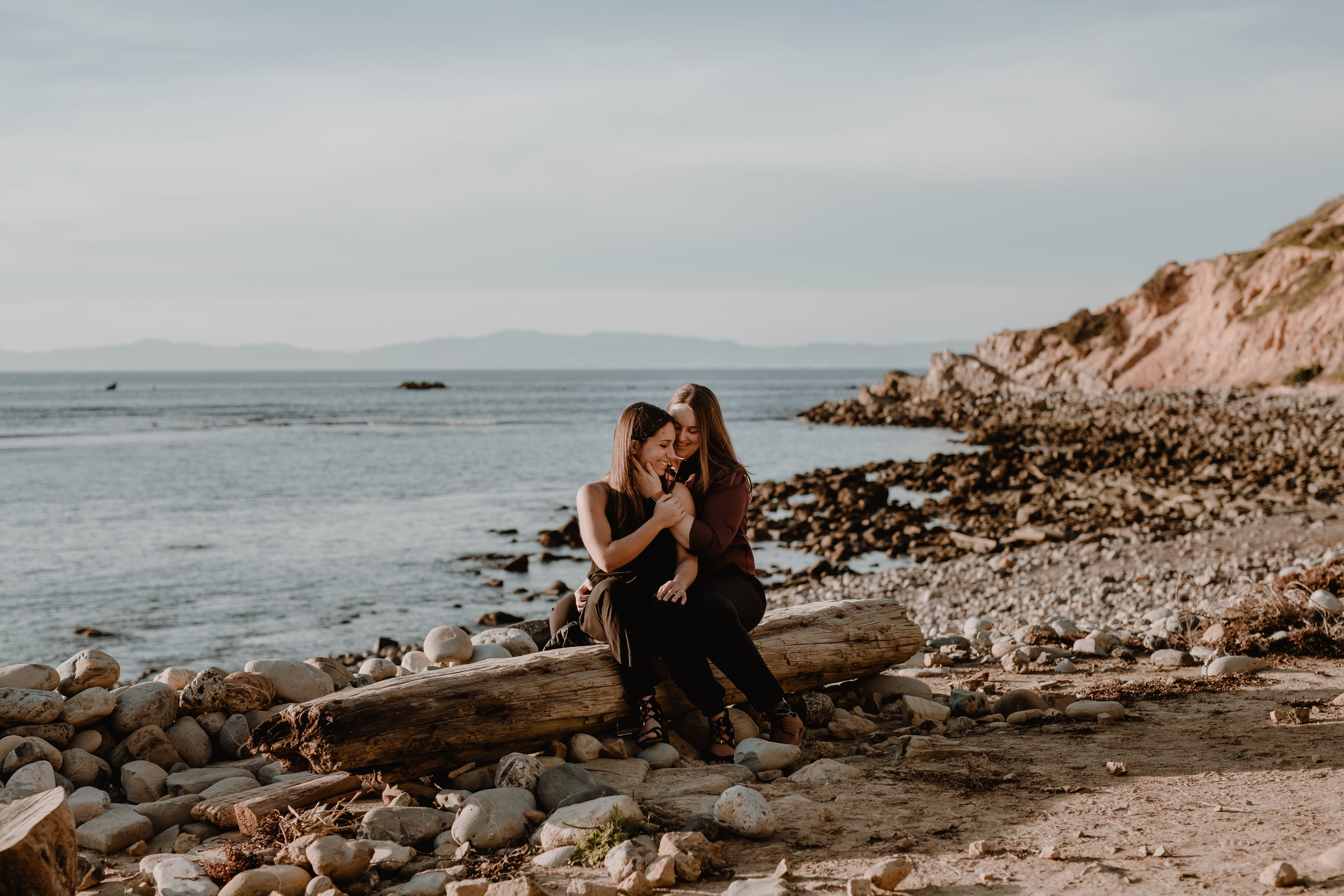 Bree + Ashley Engagement Palos Verdes Cliffs-3313.jpg