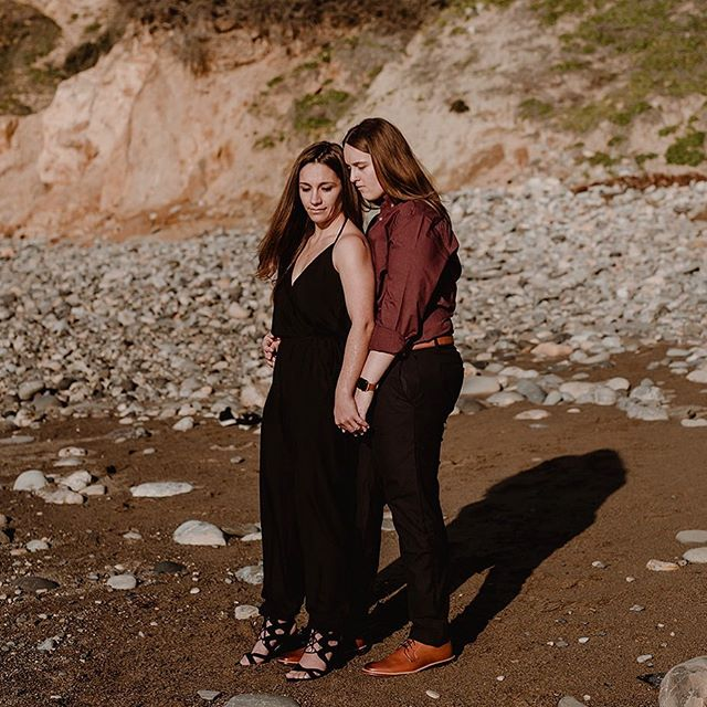 Love is love is love ❤️ . . #lgbtqweddingphotographer #lgbtqwedding #twobrides #queerwedding #intimatewedding#elopementphotographer #beachenagement #palosverdesengagement#malagacoveengagement#southerncaliforniabride#goldenhourphotography #blufftrail #outdoorbride #lesbianwedding #queerweddingphotographer #sunsetengagement #lesbianwedding#queerphotographer #losangelesweddingphotography #longbeachweddingphotographer #brideandbride #lovewins #sandiegoweddingphotographer #lovehardhoney #equallywed #dancingwithher