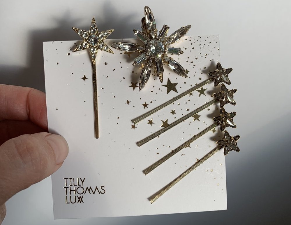 Valkyrie hair pin set by Tilly Thomas Lux