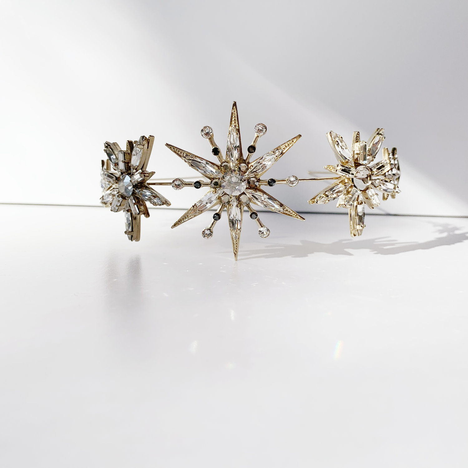 Tilly Thomas Lux Evenstar headpiece