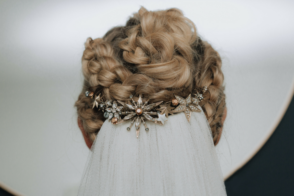 Aurora Hair Comb by Tilly Thomas Lux