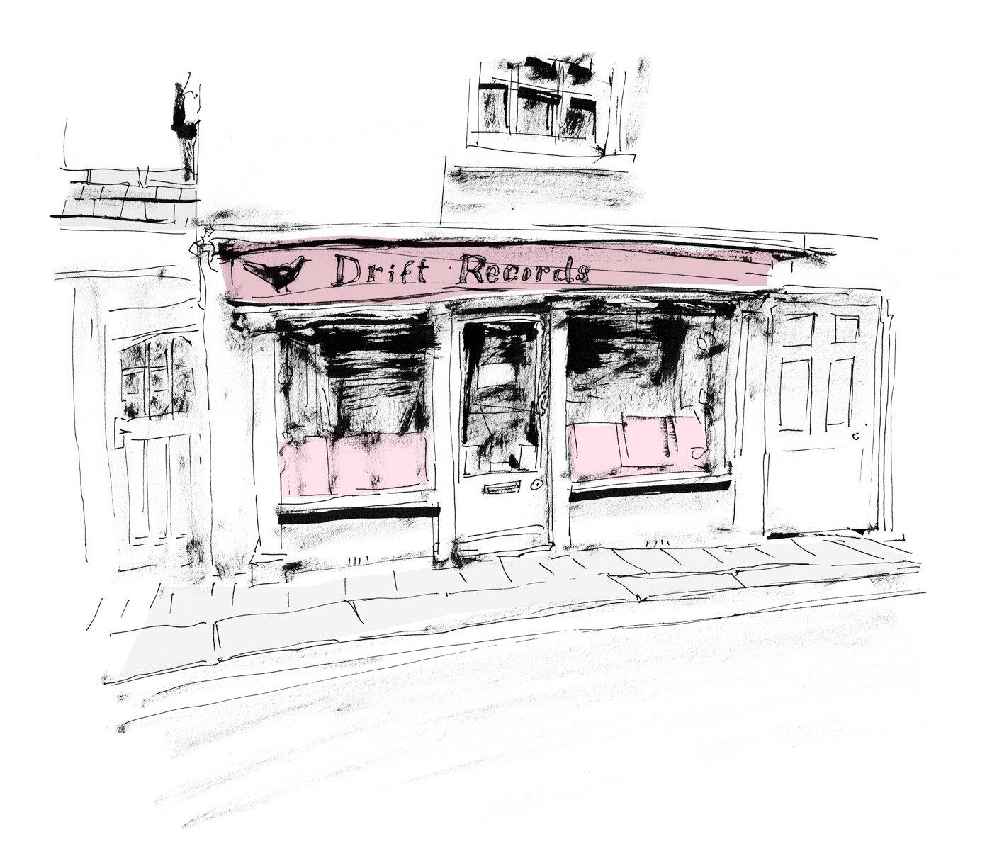 Drift Record Shop - Circa 2001
