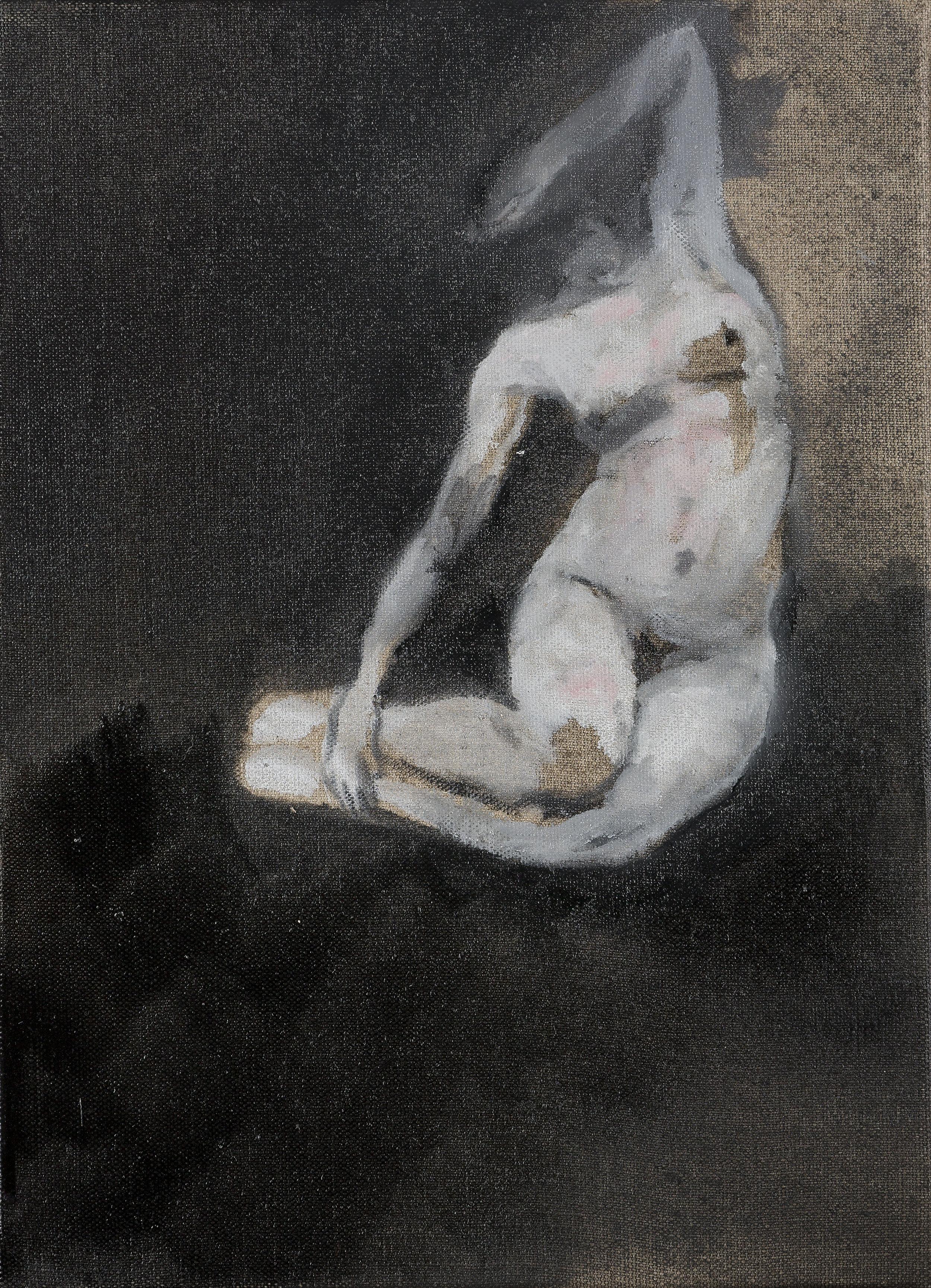 2015, Lo (Lolita - Nymphette de Nabokov), 33 x 24 cm.jpg
