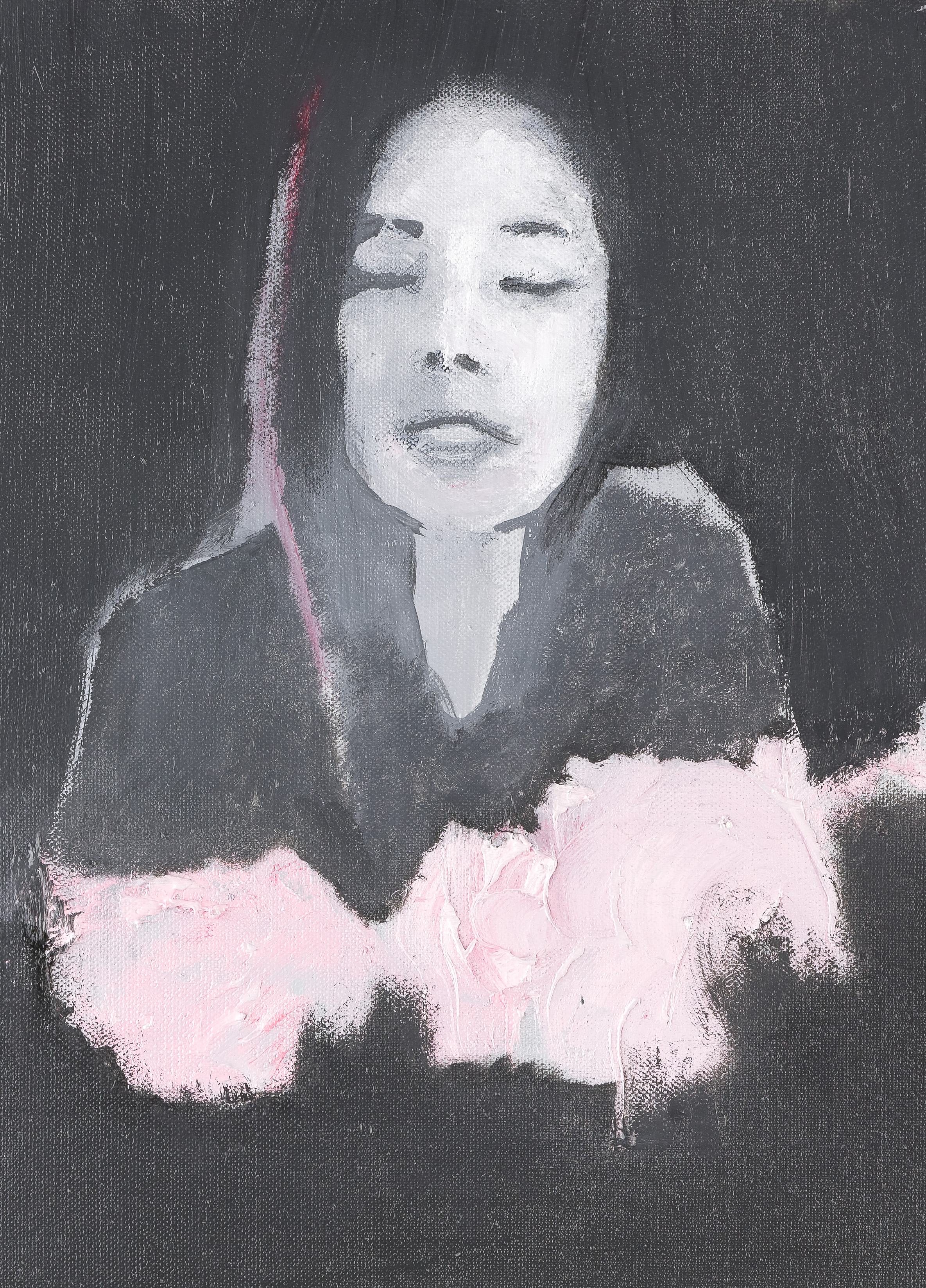 2013, Je suis toujorus comme ça au printemps, 34 x 24 cm.jpg