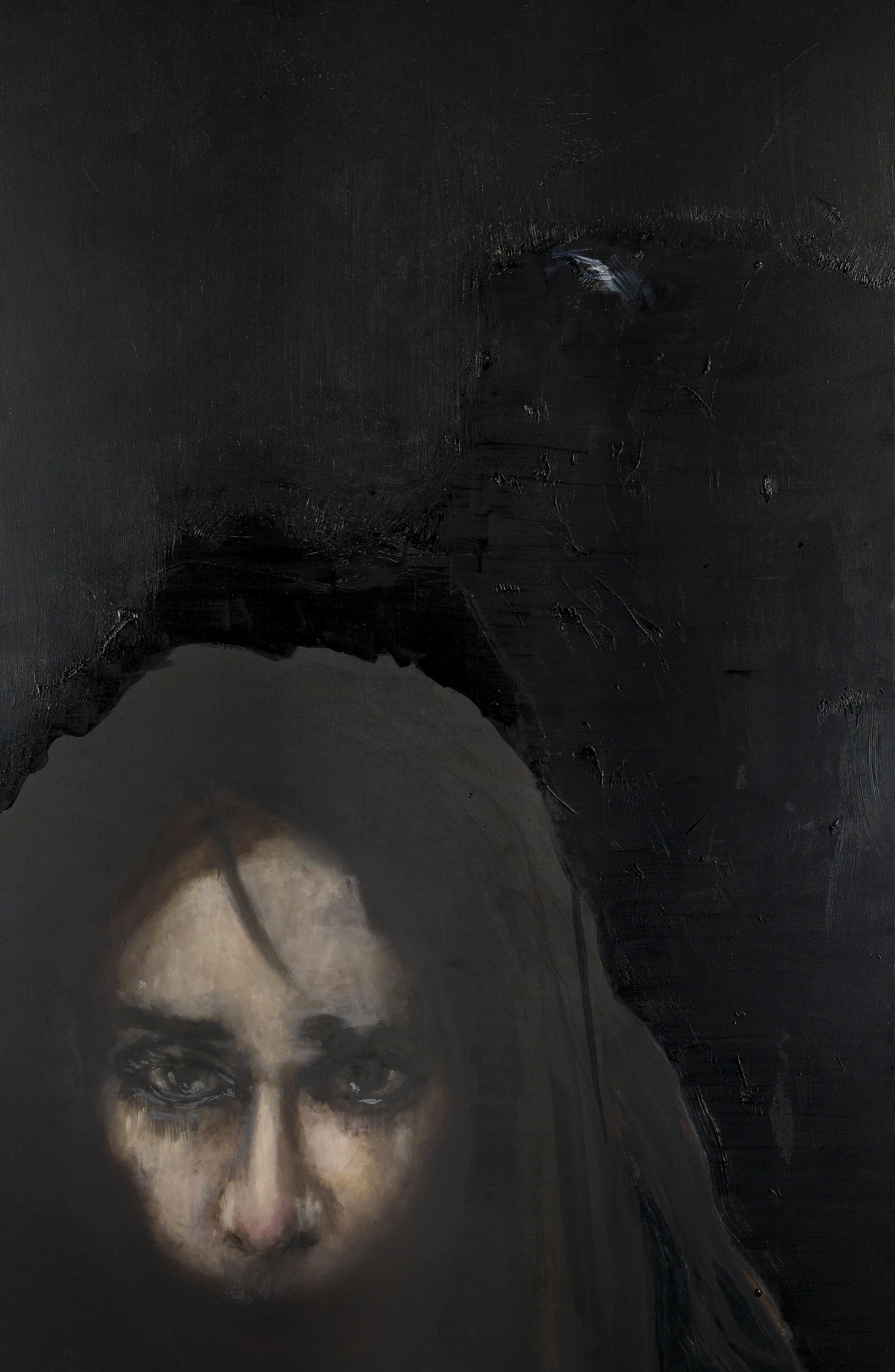 2013, L'une des Sphragitides (nymphe de Cithéron), 230 x 150 cm.jpg