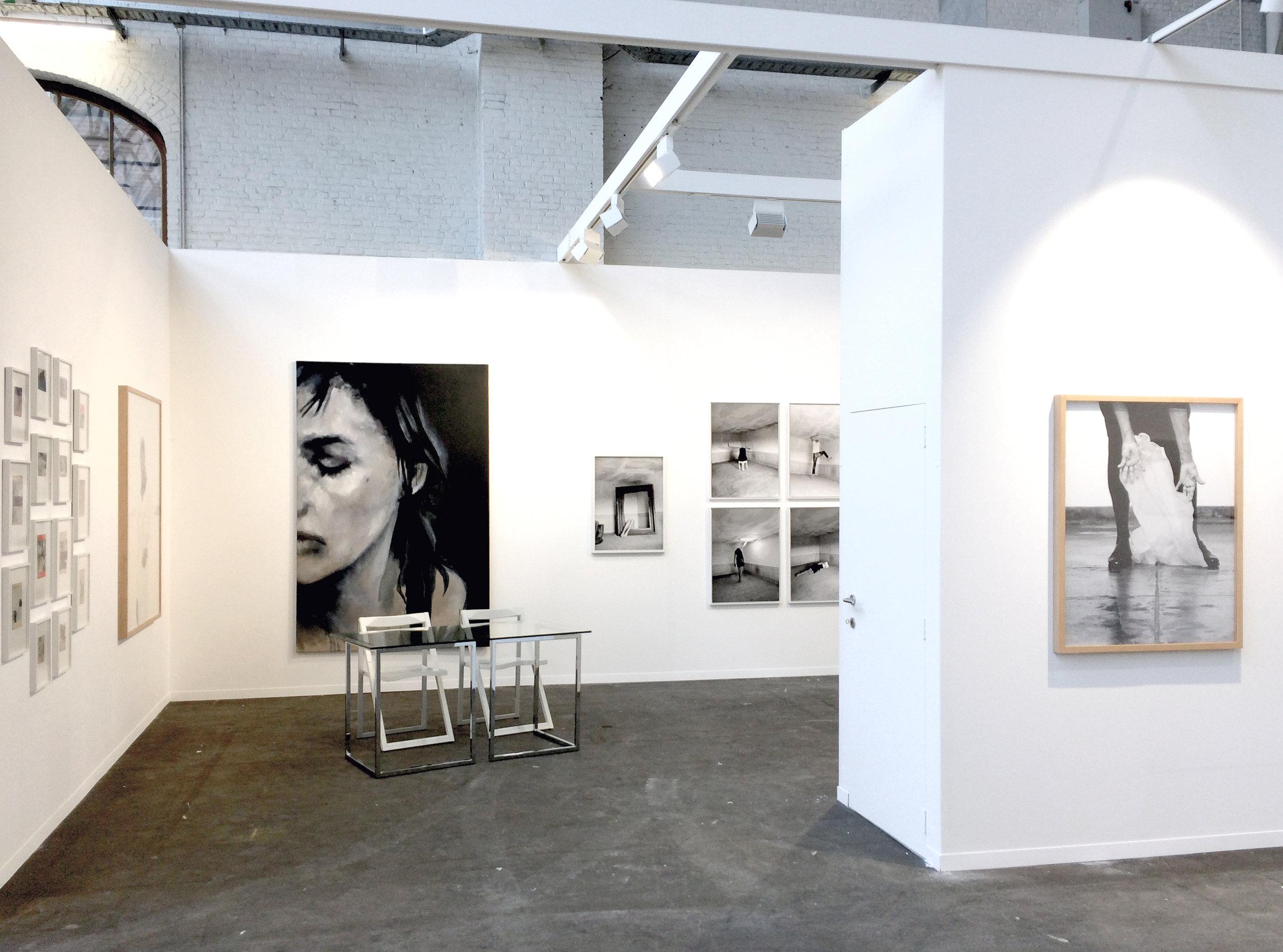 Art Brussels  galerie Les filles du calvaire, Bruxelles, Belgique