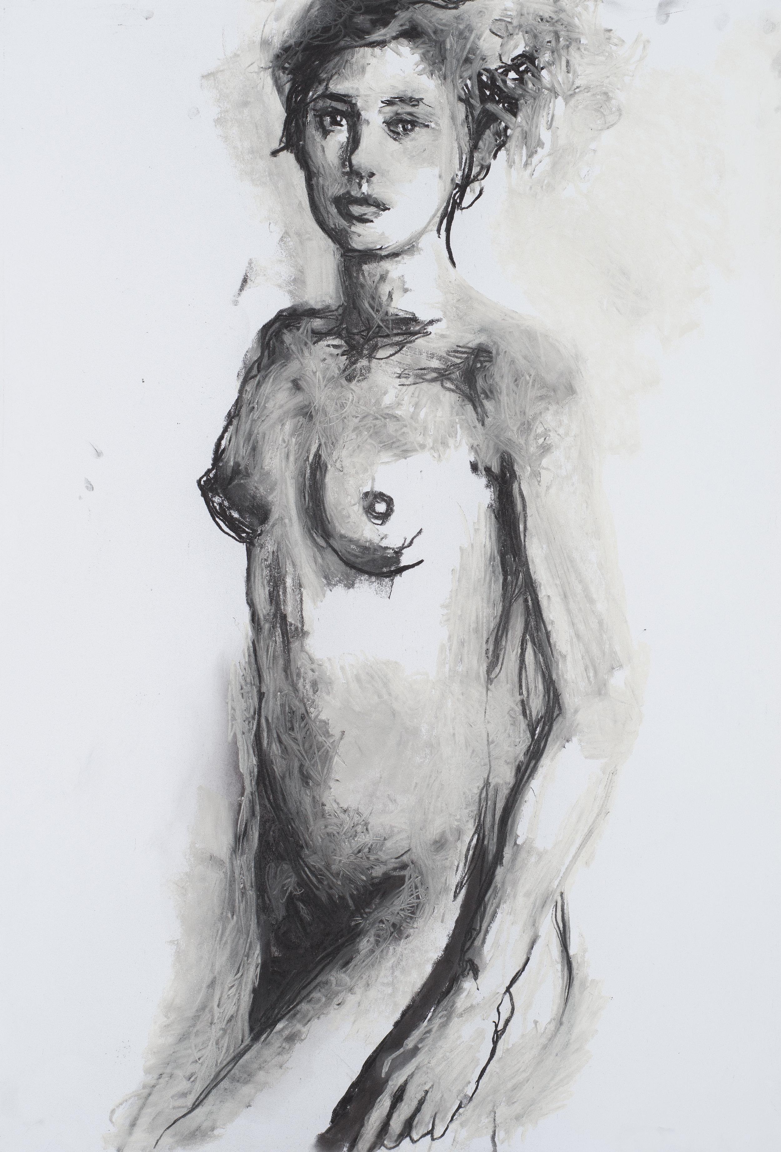 2016, Eros couronné de roses 4, 75 x 110 cm.jpg