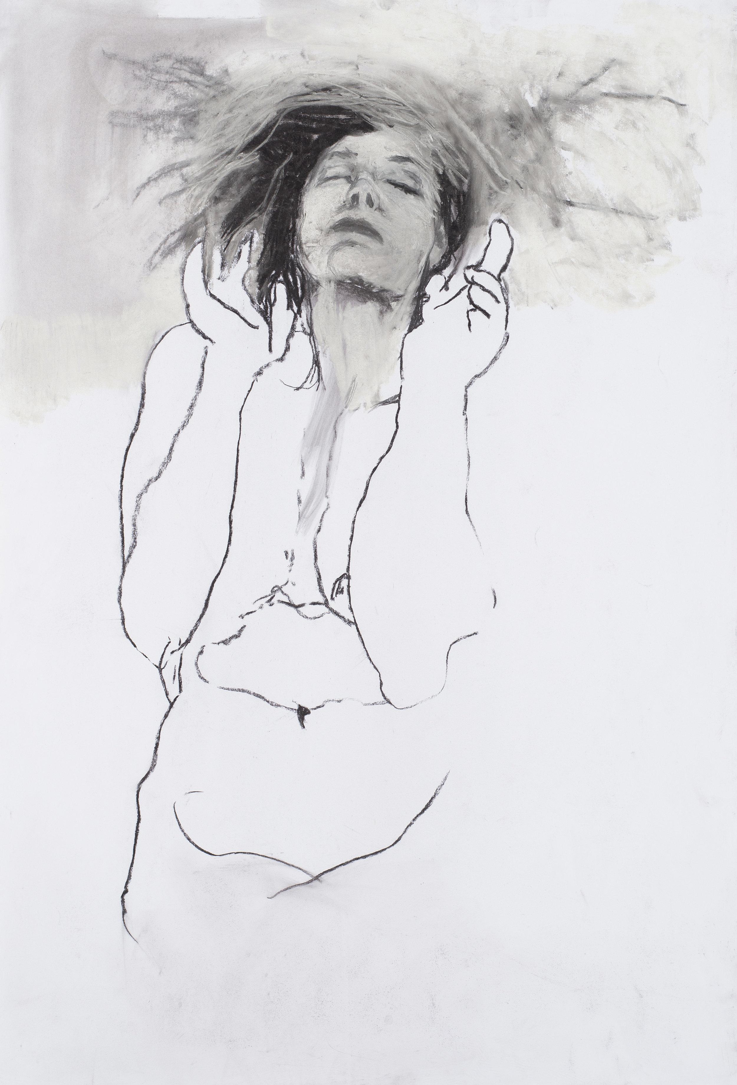 Eros couronné de roses 3 - 201675 x 110 cm