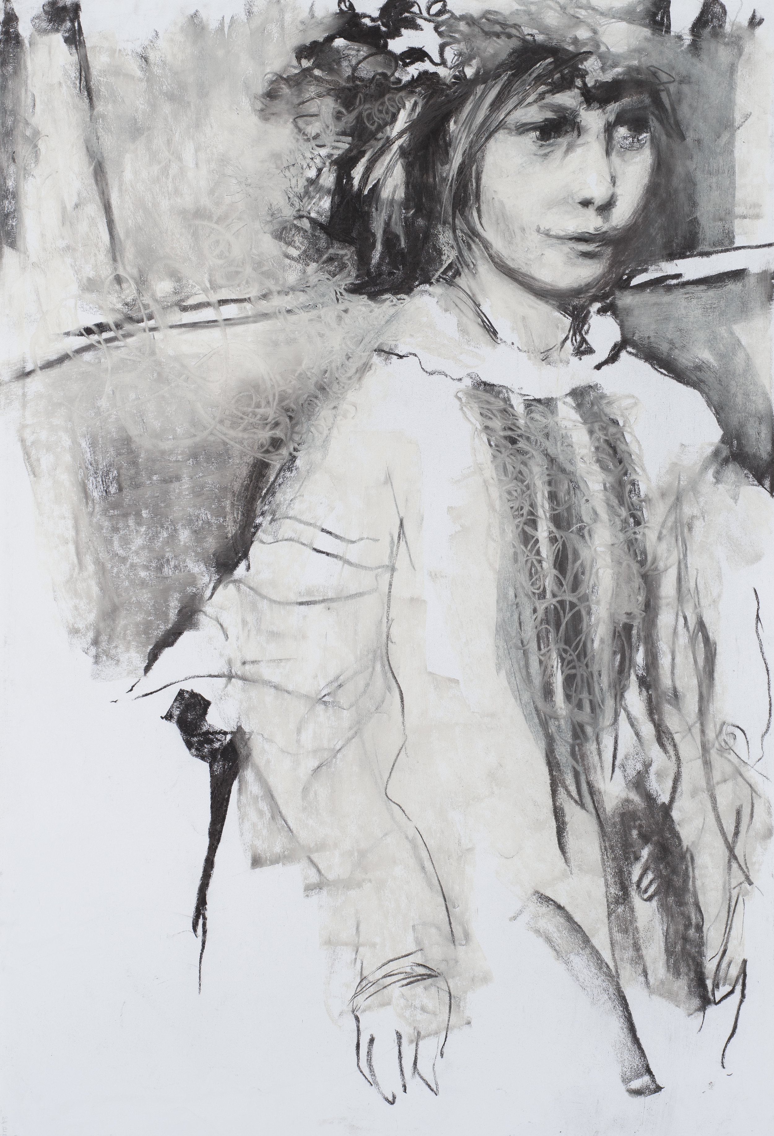 Eros couronné de roses 5 - 201675 x 110 cm