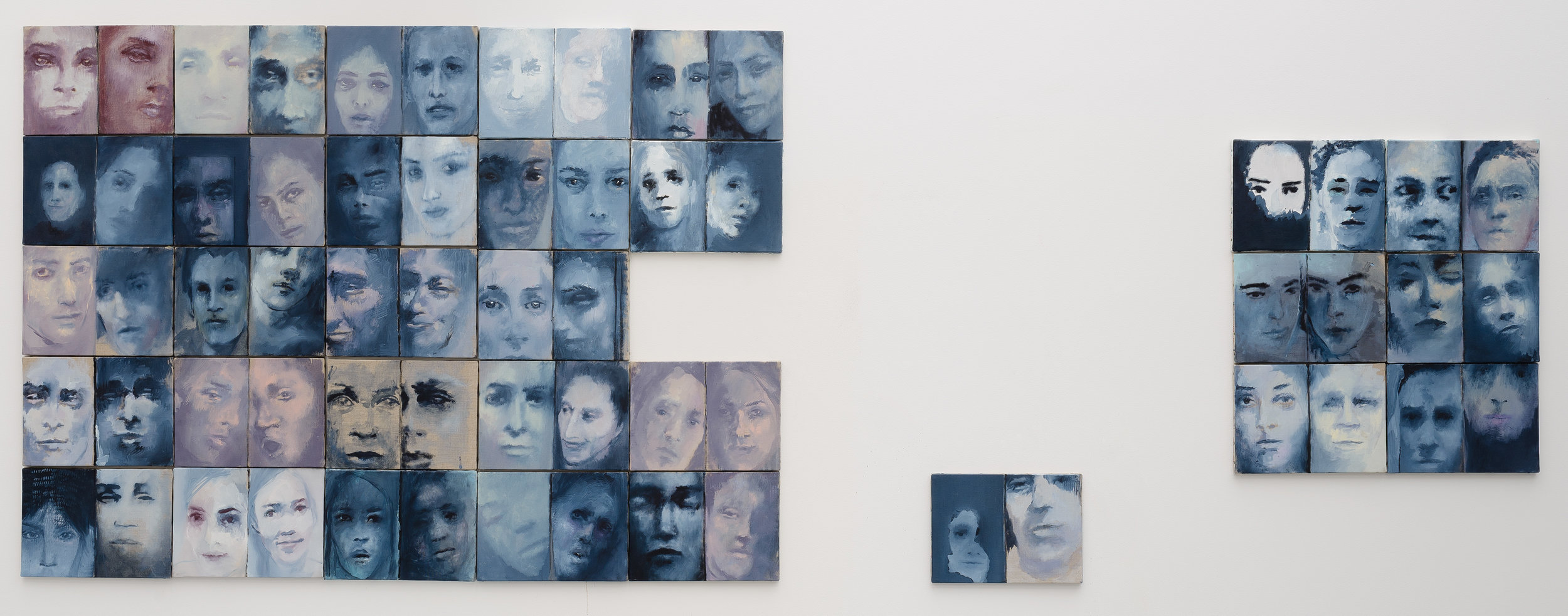 Série Je rêve beaucoup - 201224 x 34 cm (25 toiles)