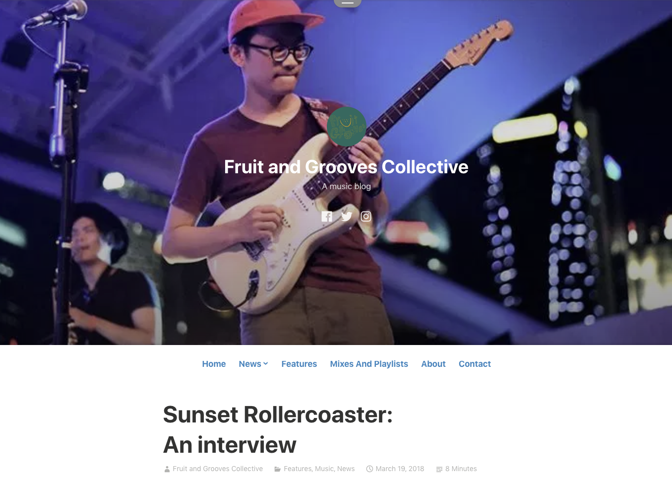https://fruitandgroovescollective.wordpress.com/2018/03/19/sunset-rollercoaster-an-interview/