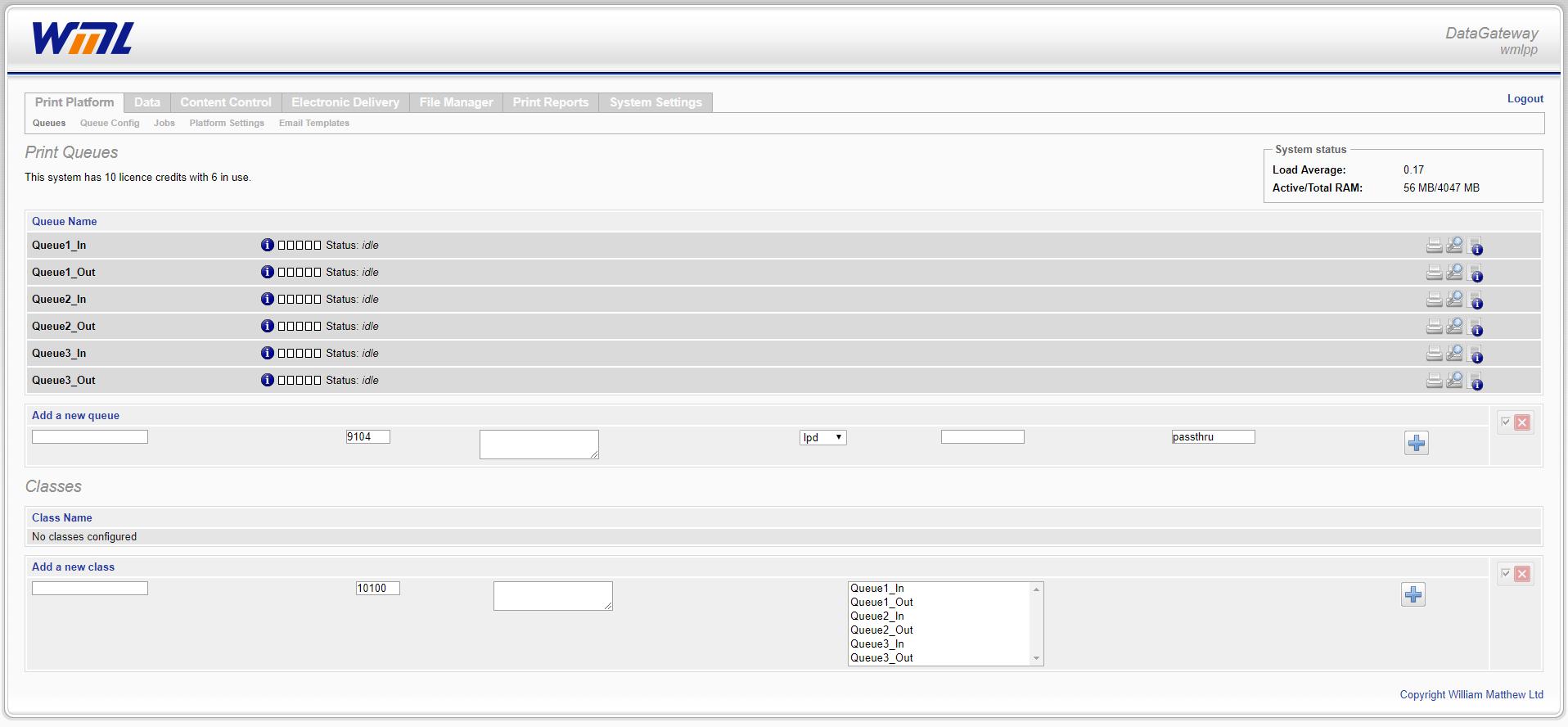 Datagateway_Queues