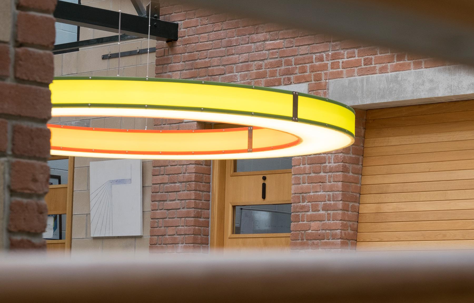 Eleanor Bell studio - ring light at Jubilee Warehouse