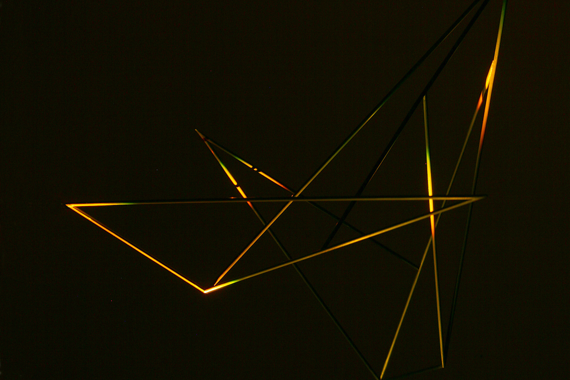 Eleanor Bell light art - light & sound installations