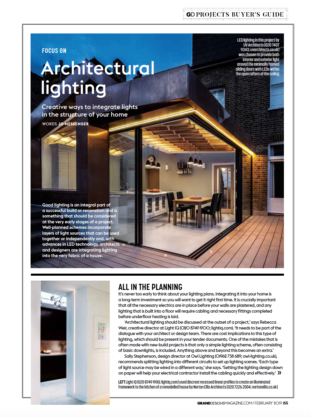 Eleanor Bell Grand Designs Feb 2019 Architectural Lighting 1