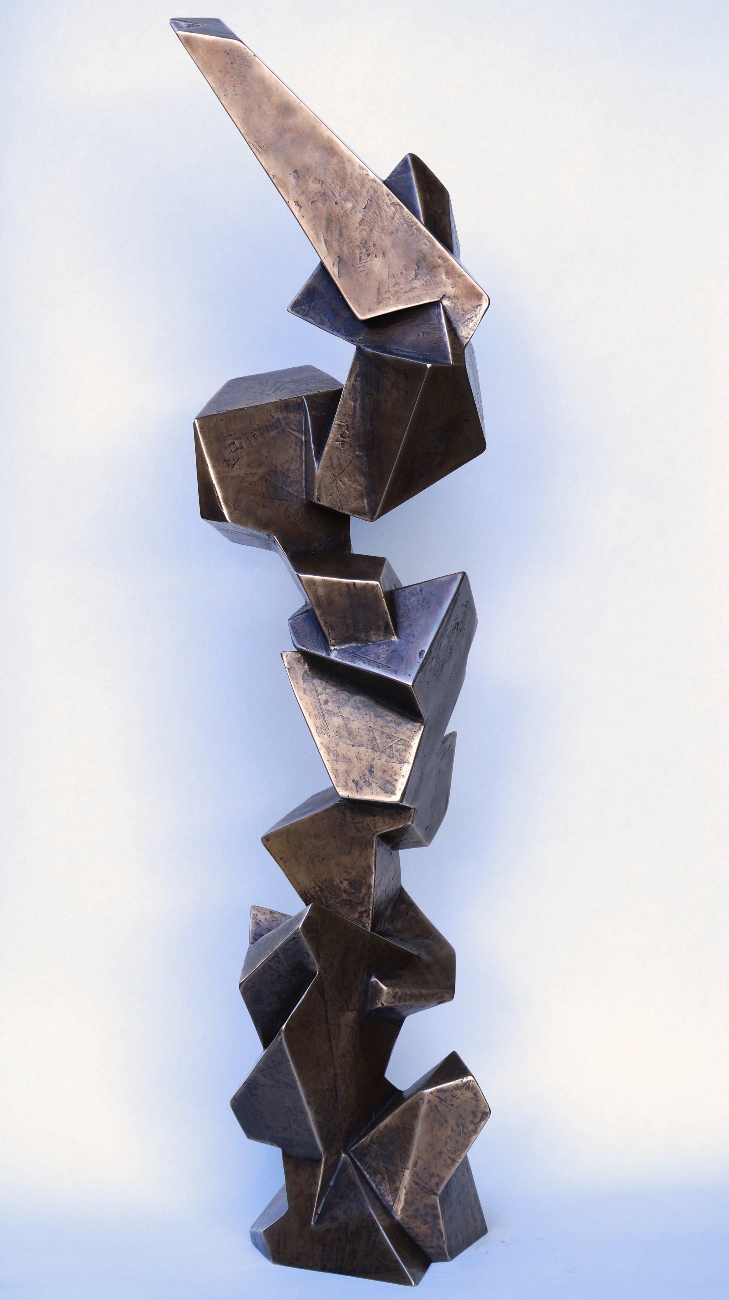 Phil Rae Scott Elemental Mass Maquette Bronze 6.jpg