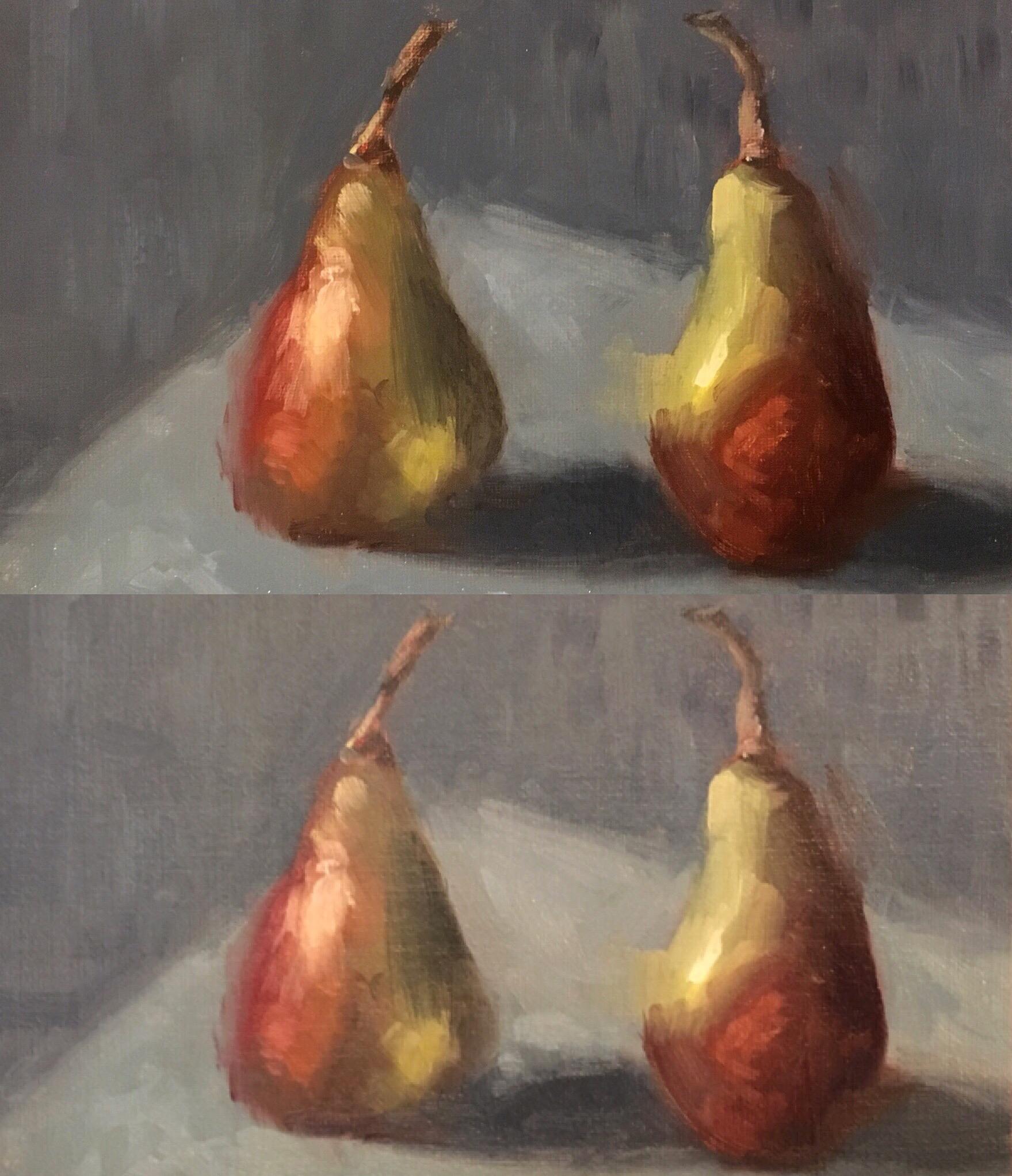 Lucy Moss, 4 Pears.jpg