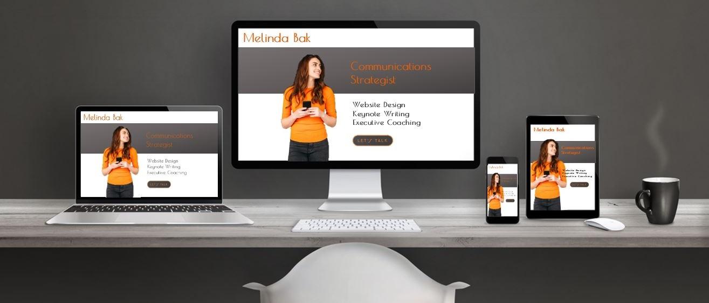 MelindaBak.org - Squarespace Freelance Professional, designer of stellar websites
