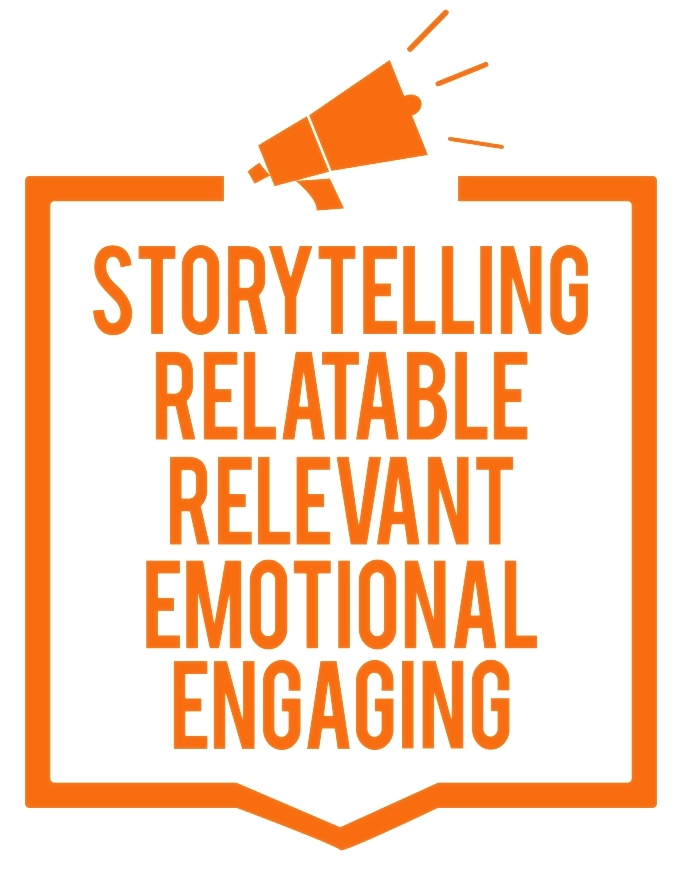 Storytelling content for your website - the science behind story - by Melinda Bak, content writer and website designered to convey - a great starting place, there are two other questions whose answers will help us move from data-delivery to engaging, inspirational and transformational