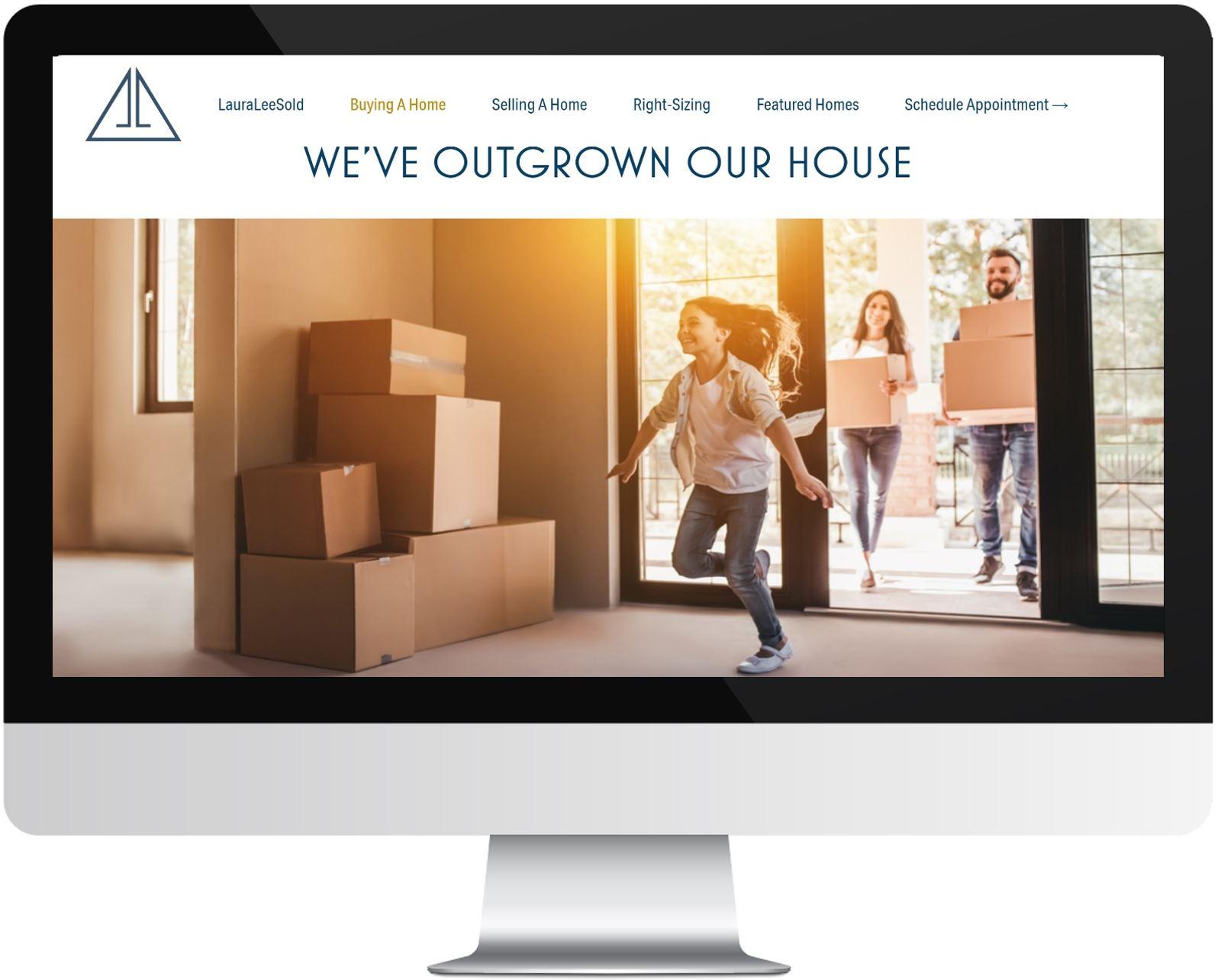Great Design for Realtor Website