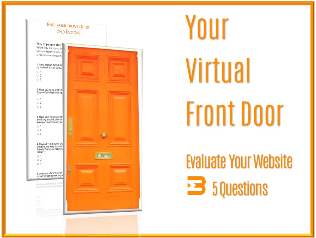 DIY Your Virtual Front Door - DIY website Resources content, branding, and performance tips and tricks