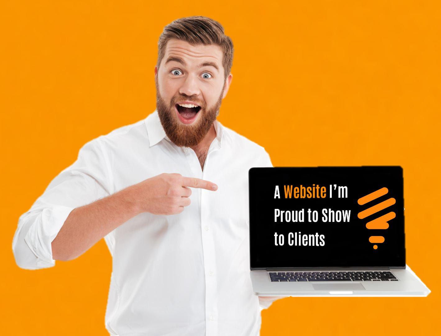 Website design you can DIY - performance, content, DIY branding - Bak