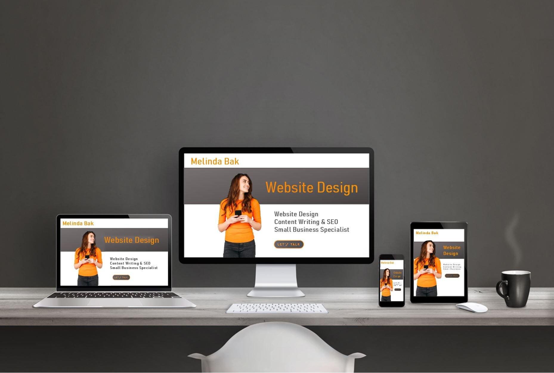 Custom Designed Sites