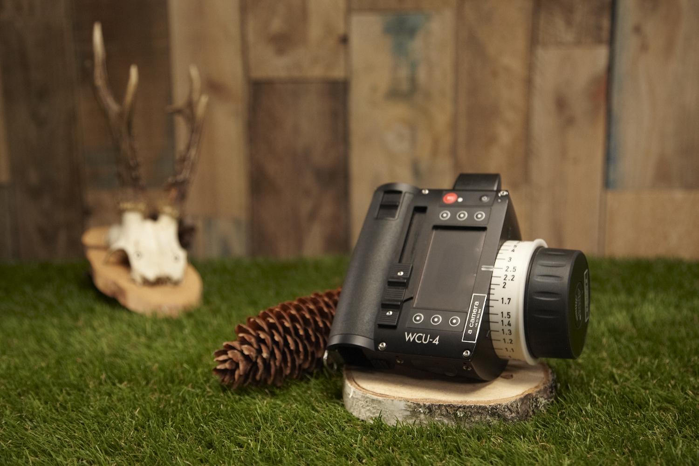 Arri WCU-4 Hand Unit   Wireless Compact Unit. Controls focus, iris, zom and camera menus on arri cameras.