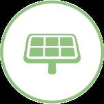 solar panel pv icon