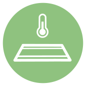 REDheat infrared heating icon