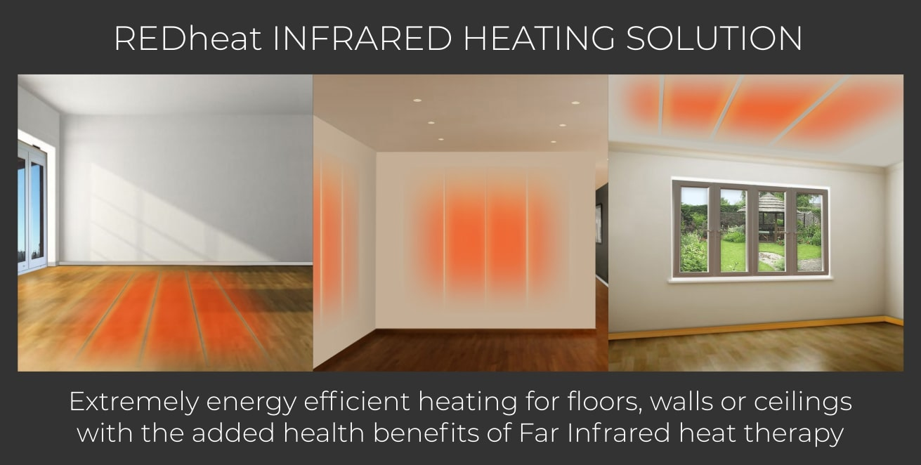 REDheat energy efficient infrared heating therapy solution