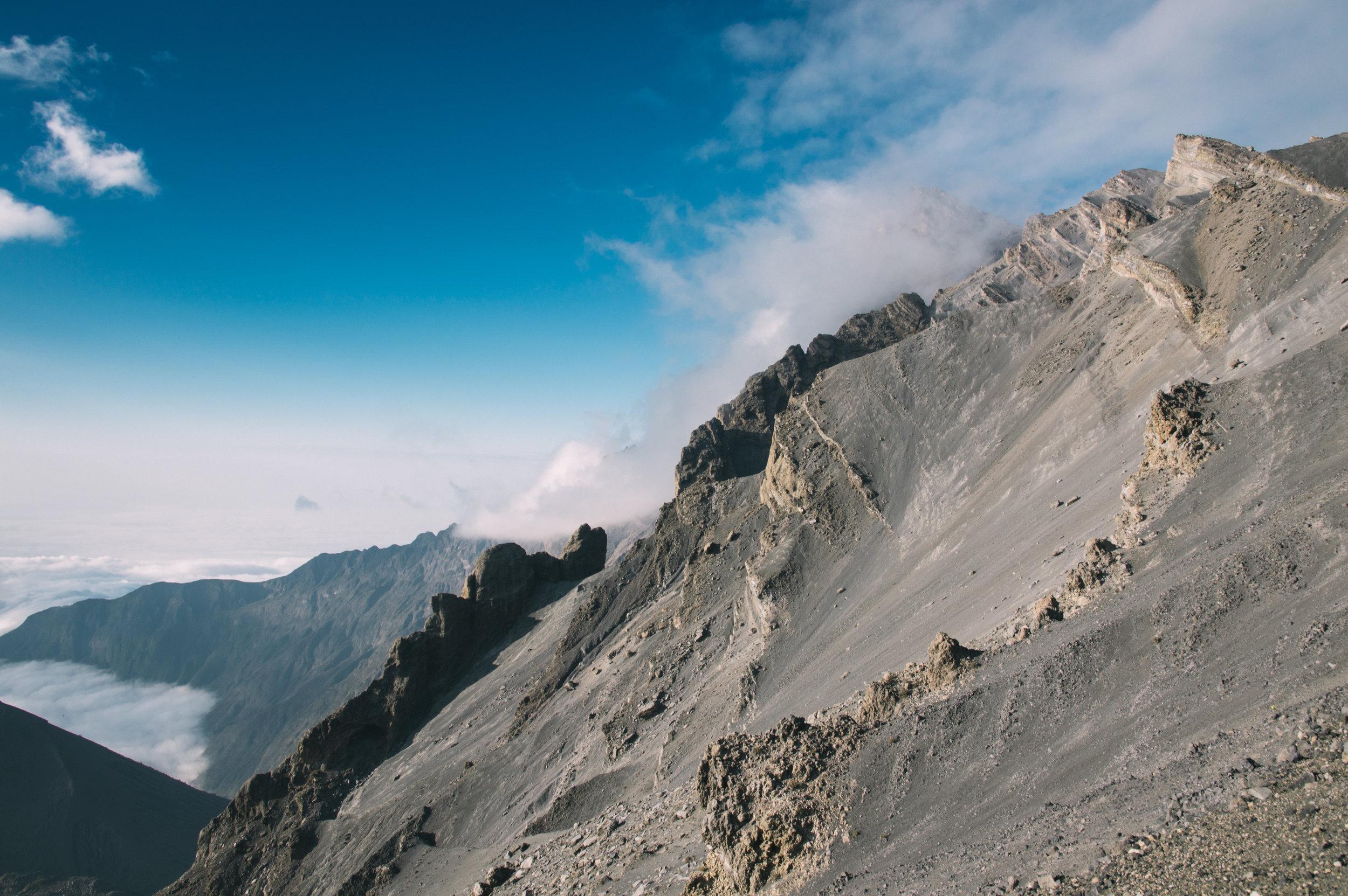 Mt. Meru   Alt 4,562 metres