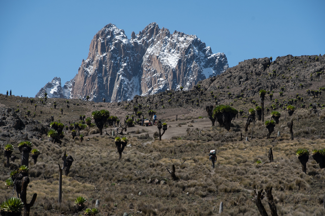 Mount Kenya -