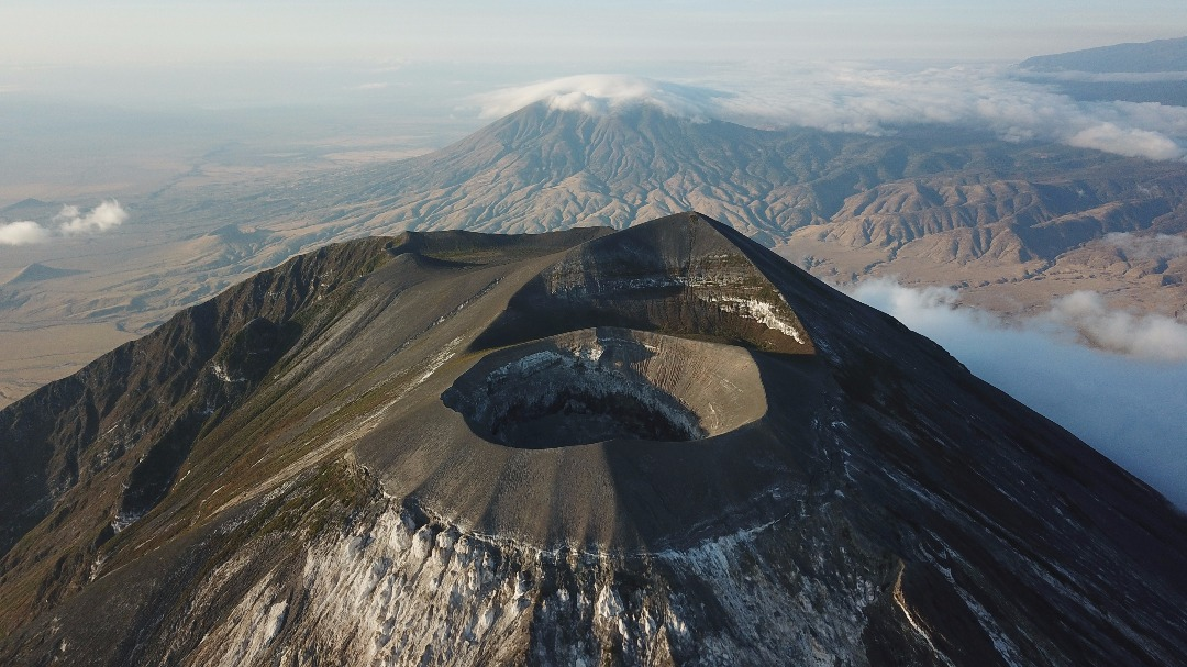 Mt. Lengai   Alt: 3,118 metres