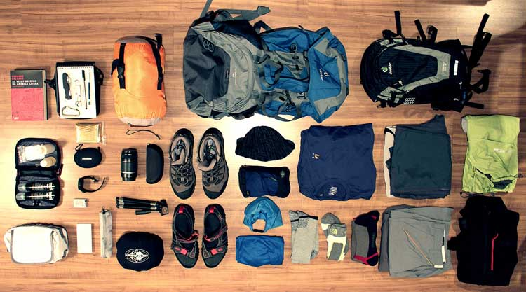 Packing List - A complete and detailed guide about what to bring on the mountain