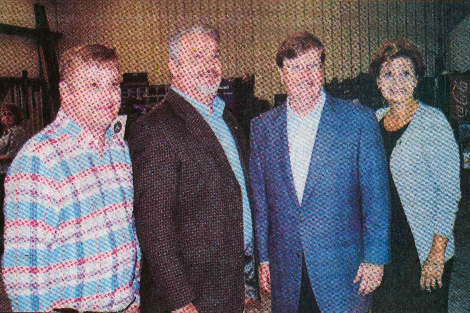 During the tour, from left, Rep. Bubba Carpenter, Rep. Tracy Arnold, Lieutenant Governor Tate Reeves, and Senator Rita Parks.