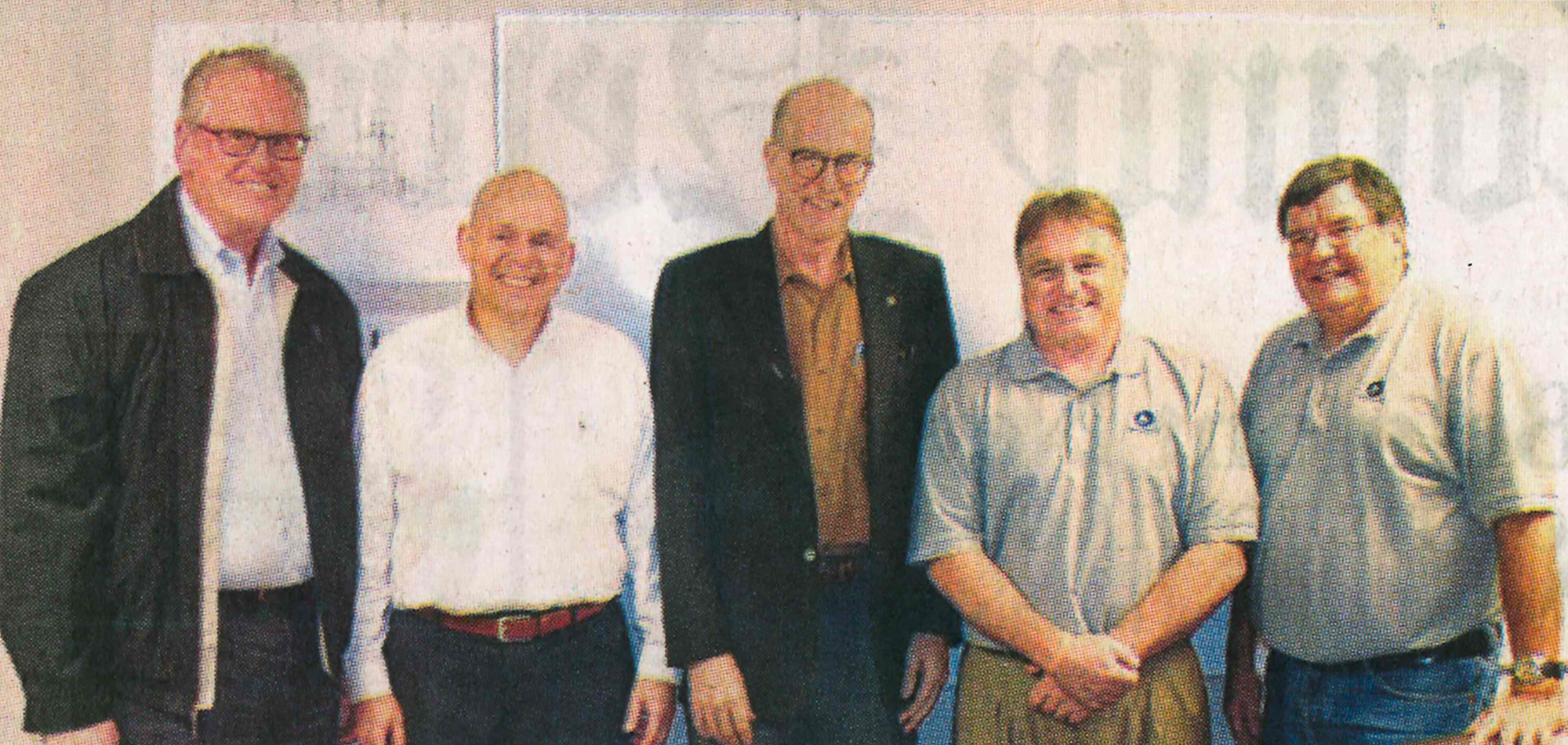 From left to right, Bill Johnson, CEO of TVA; Braulio Late, VP, Polymet Alloys and Mississippi Silicon Board of Directors; Richard Howorth, TVA Board Chair; Eddie Broadwine, COO, Mississippi Silicon; and John Lalley, CFO, Mississippi Silicon.