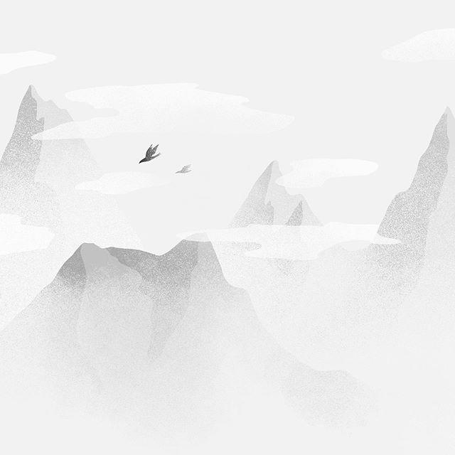 Feels . . #mountainslandscape #mountains #mountain #sky #skyline #sky_brilliance #sky_lovers #sunset #clouds #freedom #wanderer #evening #freespirit #wanderlust #illustratorsoninstagram #illustration_best #illustration_daily #illustrationoftheday #illustrationdaily #illustrationhowl #illustrationartists #graphicdesigncentral #womenofillustration #womenwhodraw #woman #tempuradesign #illustrationnow #tempuradesign