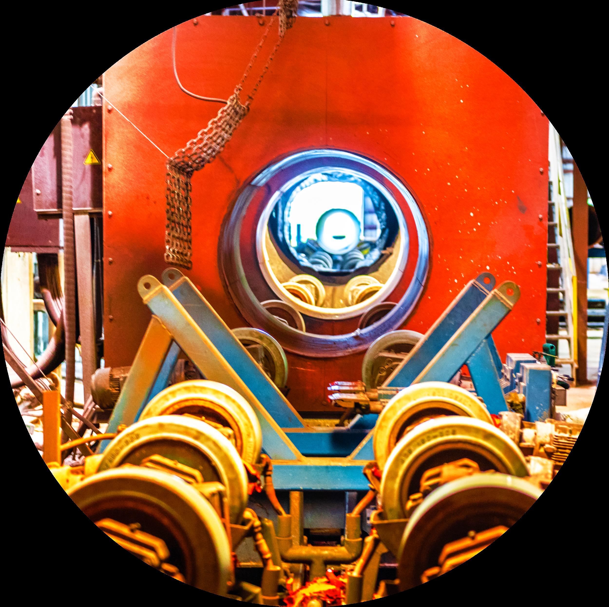 Manufacturing Machine in Mill