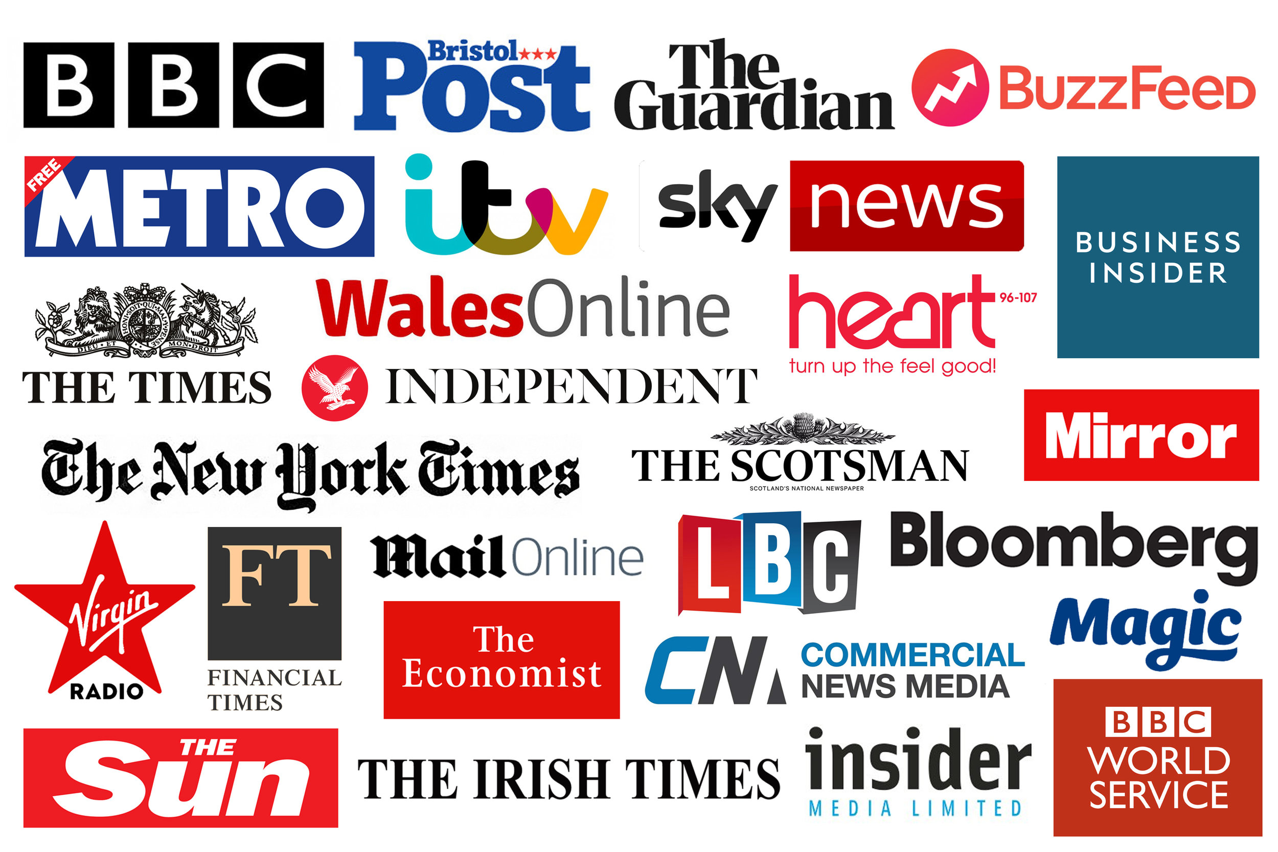 WE HANDLE THE MEDIA - Whether you want to be in local, regional, trade or international media we will create the stories that will get you noticed and encourage journalists, writers, broadcasters and bloggers to talk about you.