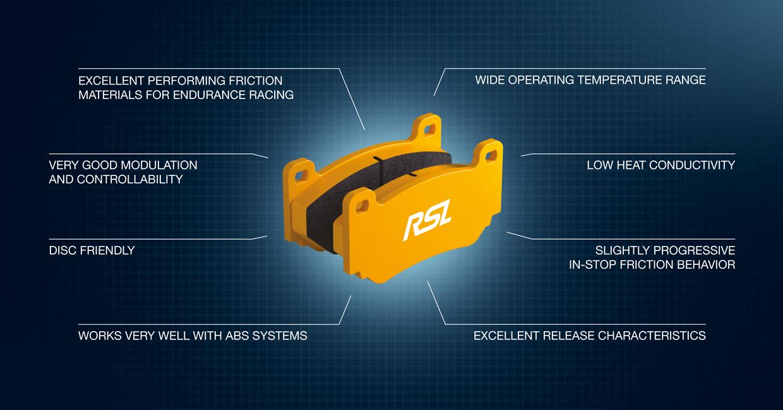 Pagid Racing brake pad RSL explained