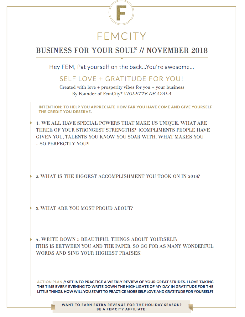 SELF LOVE AND GRATITUDE NOVEMBER 2018 WORKSHEET.png