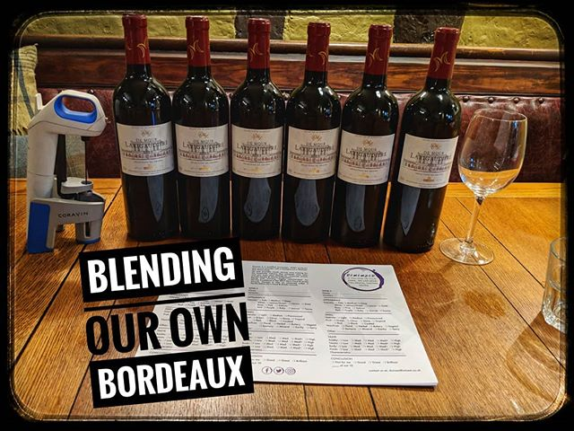 What an awesome way to teach staff about why some wines are blends. We are blending our own Bordeaux today. 2 different merlots, 2 different Cab Sauvs and a petit verdot. Maybe we will make the next 1st class growth.#wine #winestagram #instawine #winenerd #sommelierlife #sommelierlife #winelovers  #winegeek #tastingroom #winetasting  #herts #wineexpert #wineeducation  #wineeducator #winelover #hertfordshire #Hospitality #bar #winelist #wineevents #winetraining #sommelier #stafftraining