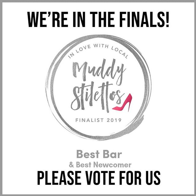 Our Wine Bar @weevinoteca is a finalist for 2 categories in the @muddyhertsbeds  awards. Please spare a minute to vote for us for Best Bar and Best Newcomer. #woohoo #awards #hitchin #hitchintown #hitchinarcade #herts #muddystilettos #votes