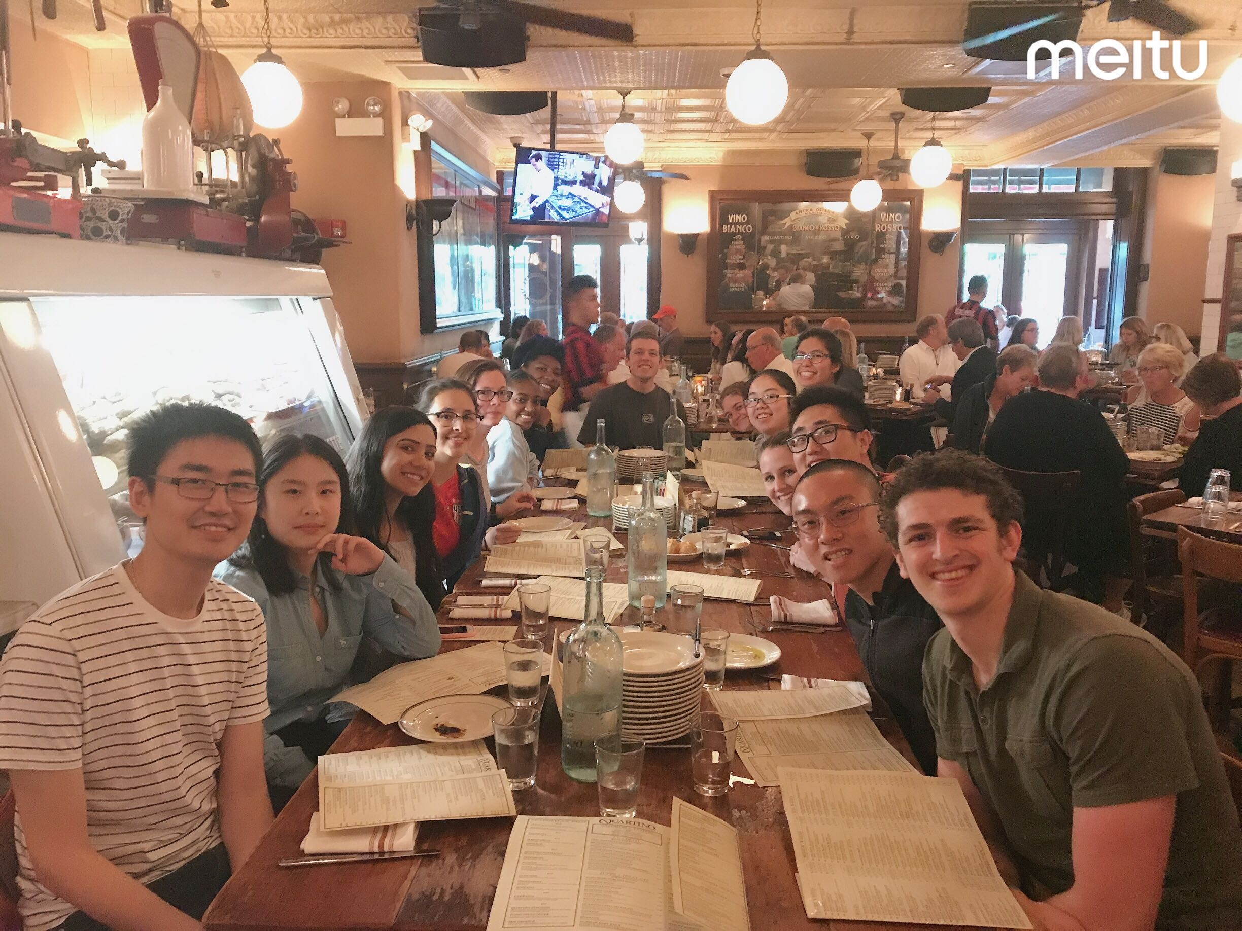 welcome dinner for summer 2019 group