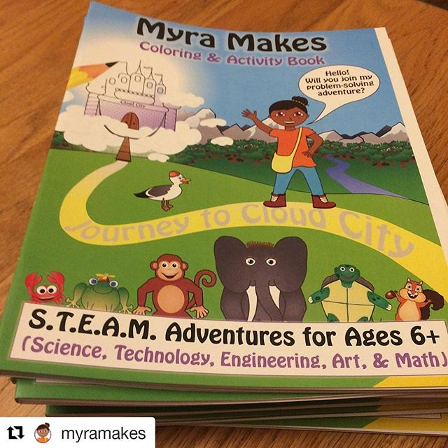 We have a mini partnership with Myra Makes! You should check them out! Another Colorado company doing great things for kids!!