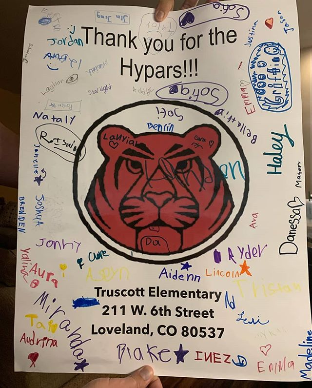 We got the sweetest thank you from Truscott Elementary! You guys are amazing and we want to see what cool designs you come up with!