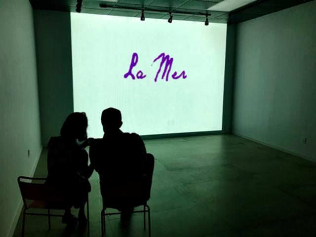 La Mer,  Video Installation